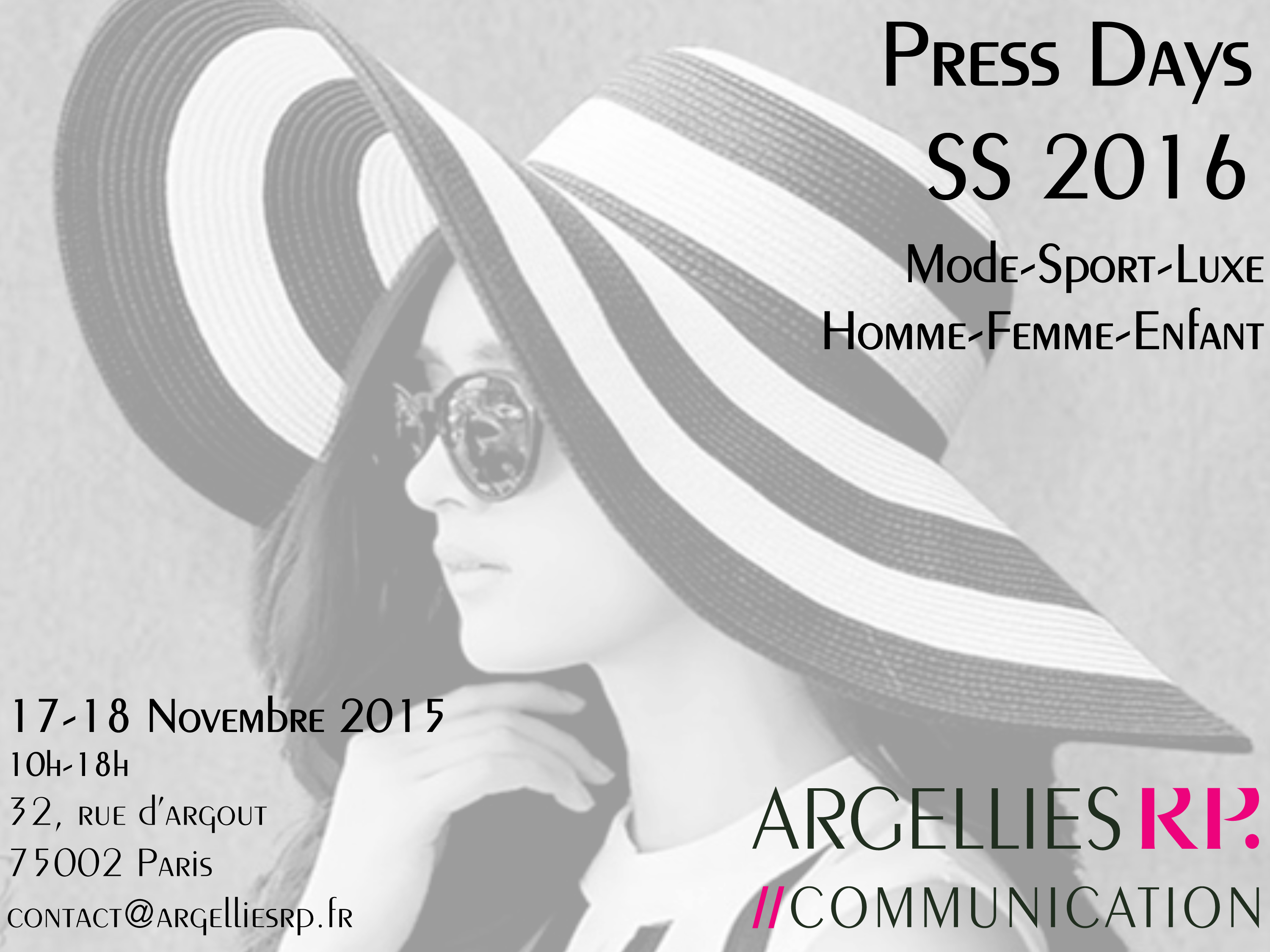 invitation Press Days Argellies RP SS 16